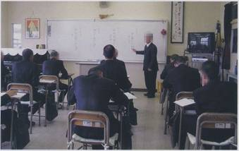 教科指導の様子