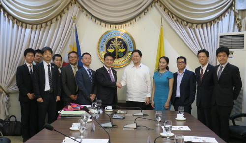 July 29, 2019 Justice Minister Visited the Philippines and Indonesia